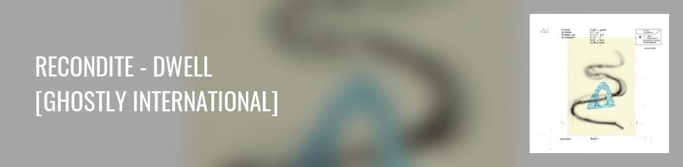 Recondite - DWELL (Ltd. Mottled Blue 2LP) Banner