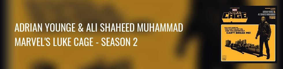 Adrian Younge & Ali Shaheed Muhammad - Marvel's Luke Cage - Season 2 (2LP) Banner